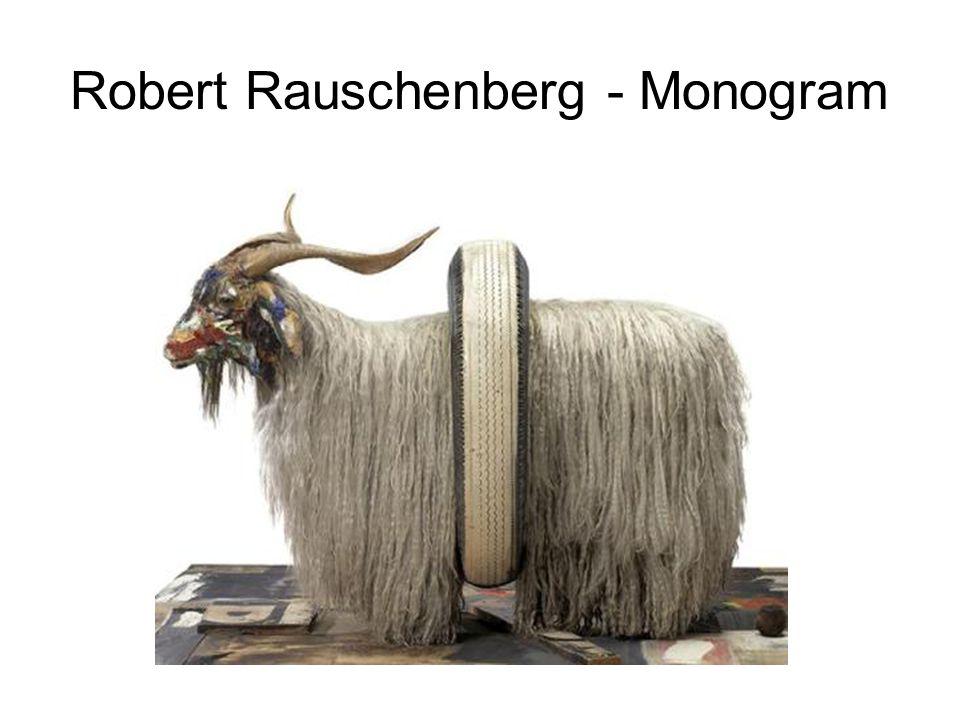 Robert Rauschenberg - Monogram