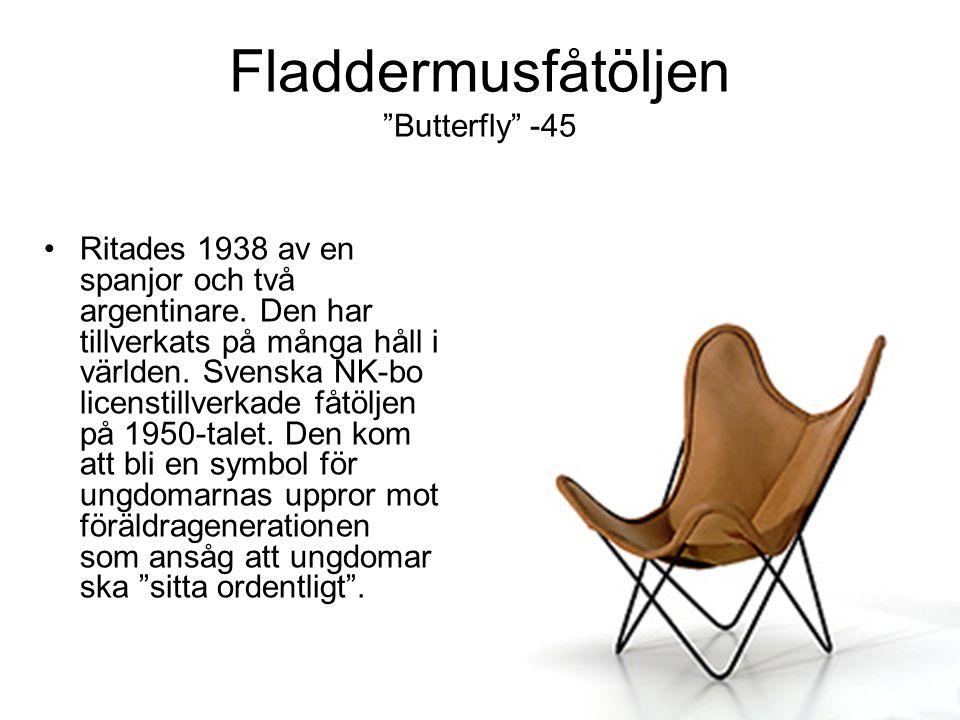 Fladdermusfåtöljen Butterfly -45