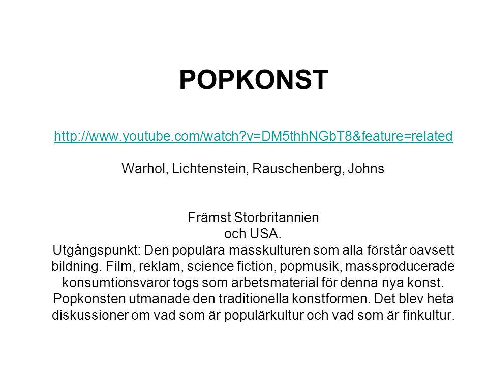 POPKONST http://www. youtube. com/watch