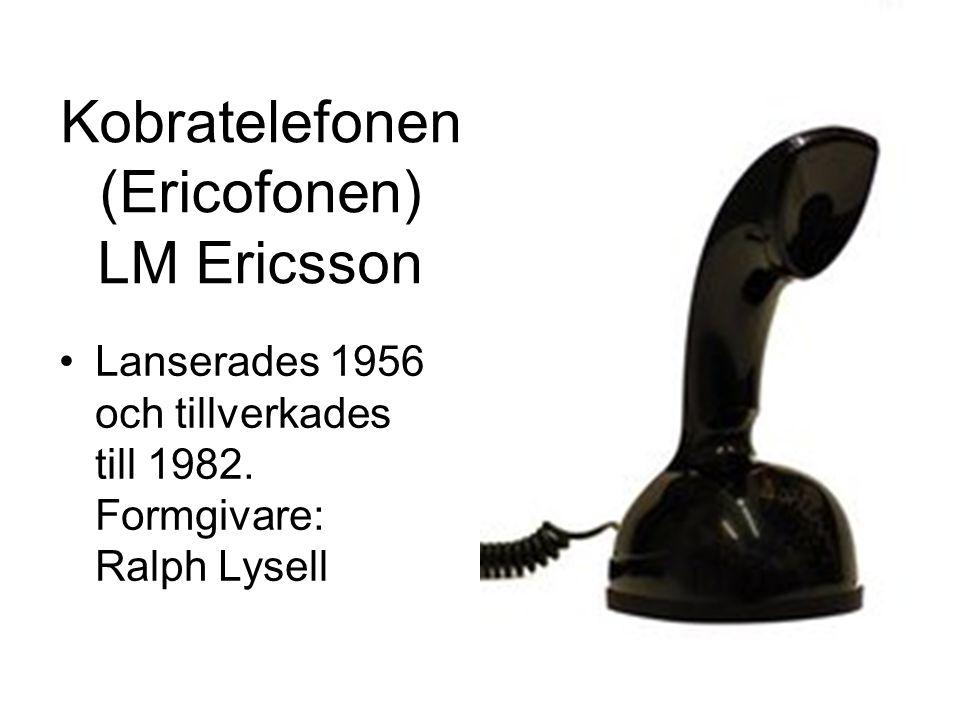Kobratelefonen (Ericofonen) LM Ericsson