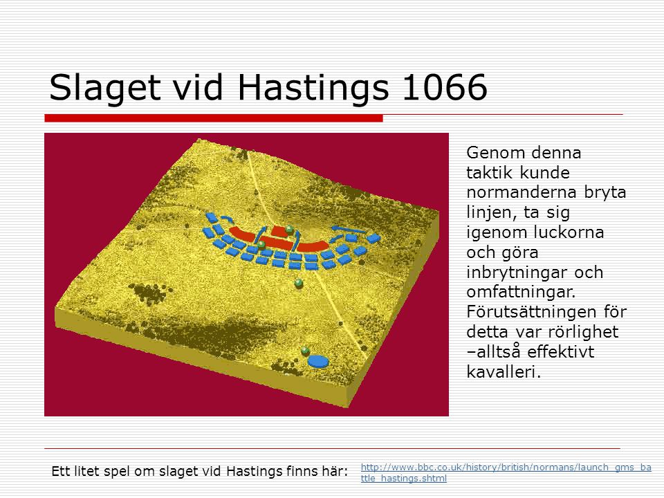 Slaget vid Hastings 1066