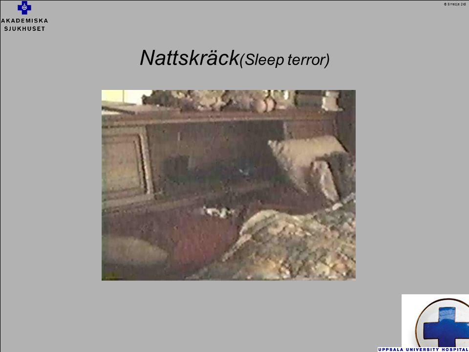 Nattskräck(Sleep terror)
