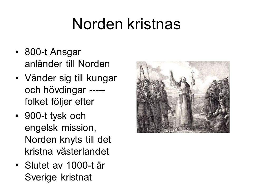 Norden kristnas 800-t Ansgar anländer till Norden