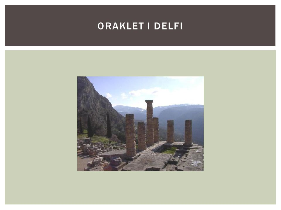 ORAKLET I DELFI