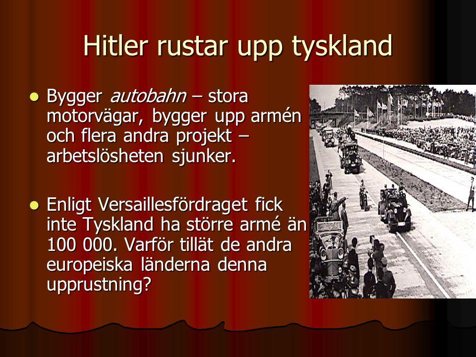 Hitler rustar upp tyskland