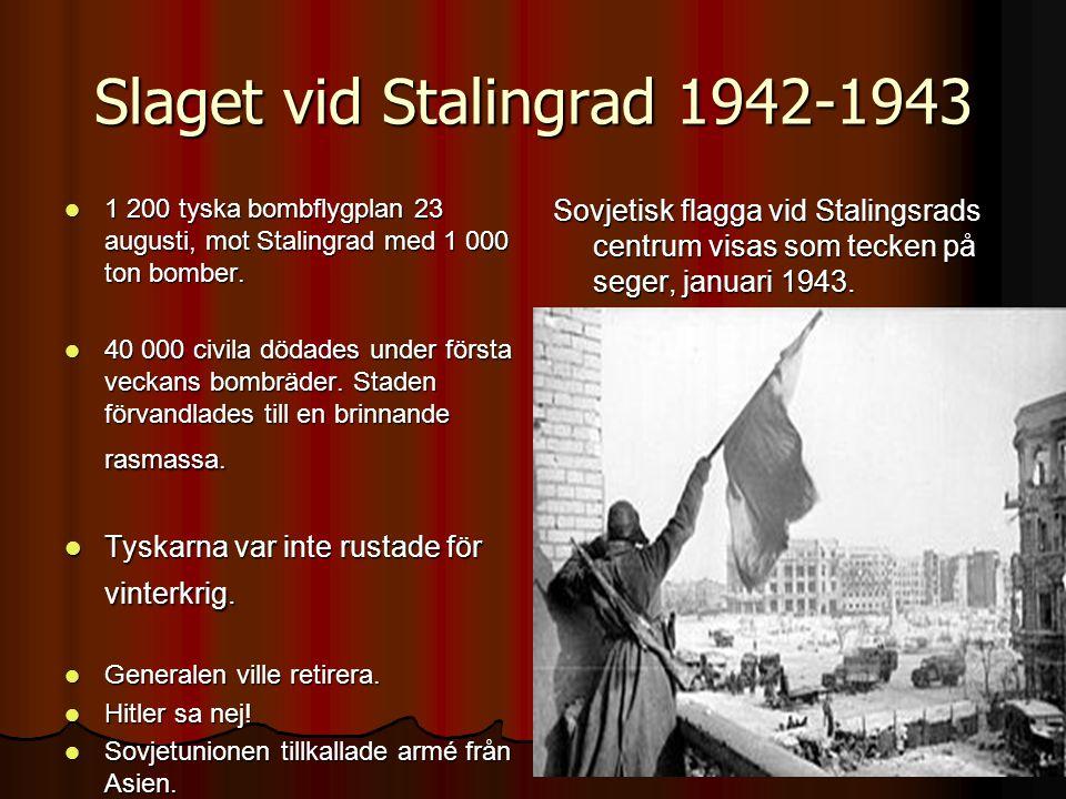 Slaget vid Stalingrad 1942-1943