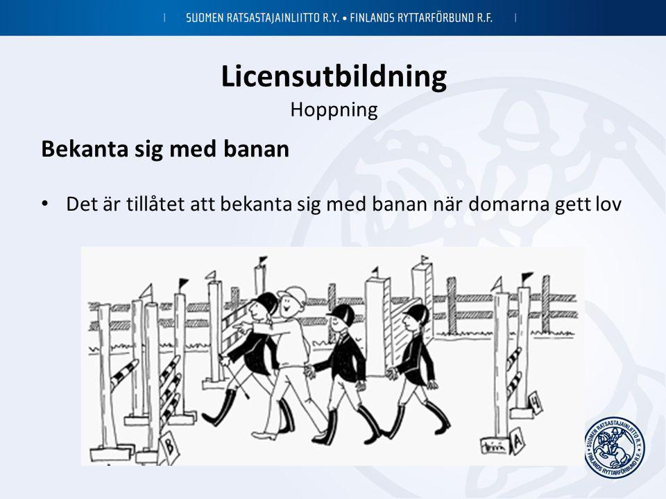 Licensutbildning Hoppning