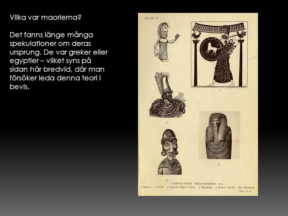 Vilka var maorierna