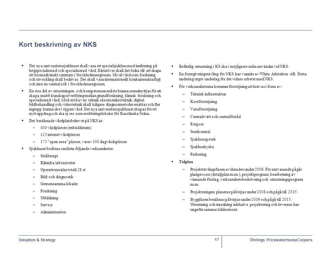 Kort beskrivning av NKS