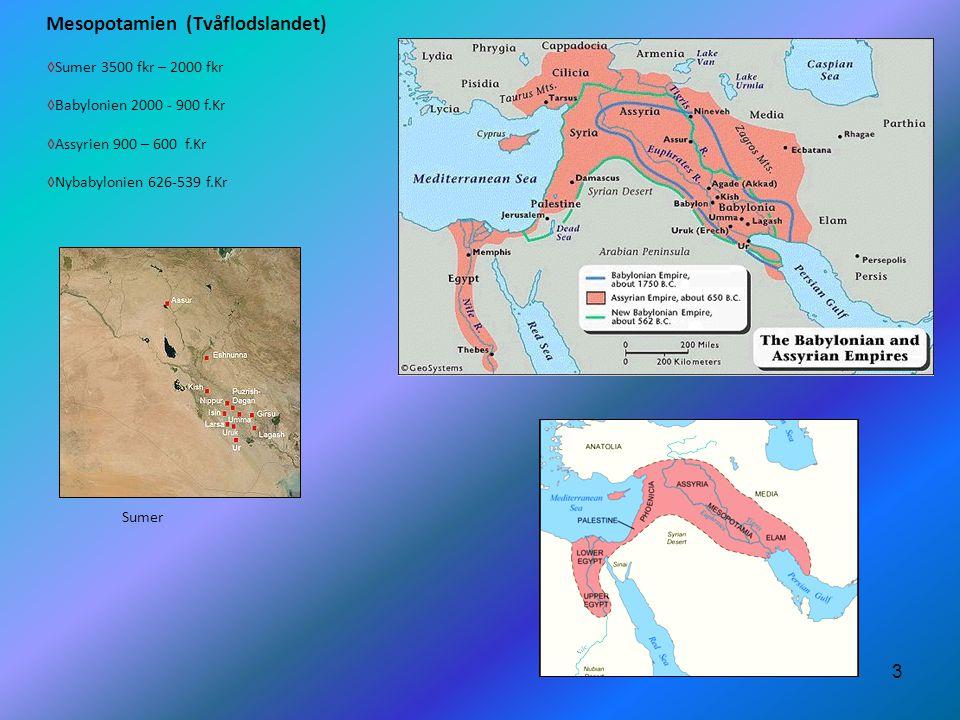 Mesopotamien (Tvåflodslandet)