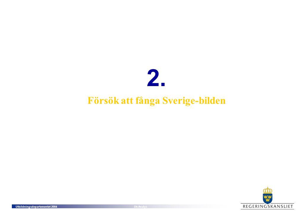 Försök att fånga Sverige-bilden