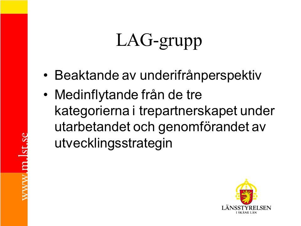LAG-grupp Beaktande av underifrånperspektiv