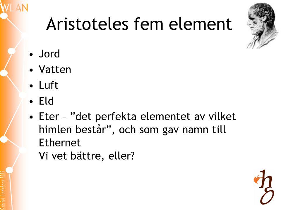 Aristoteles fem element
