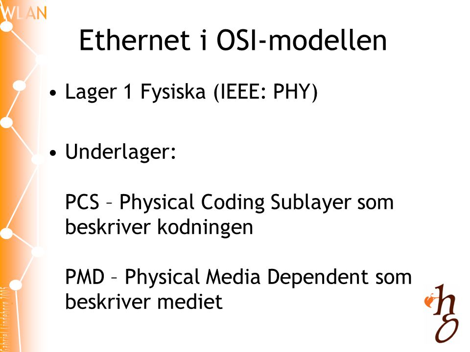 Ethernet i OSI-modellen