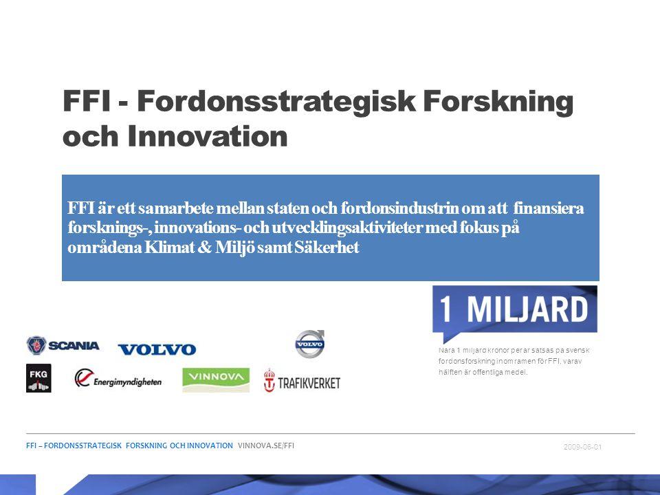 FFI - Fordonsstrategisk Forskning och Innovation