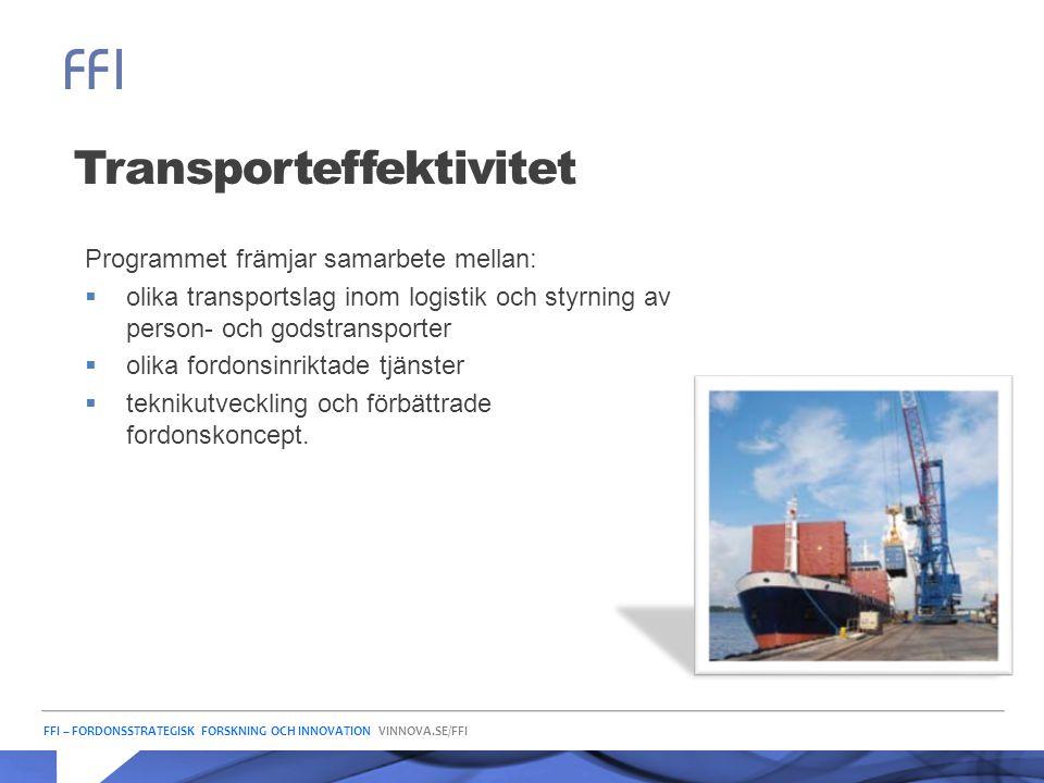 Transporteffektivitet