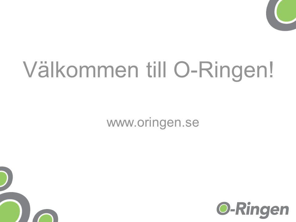 Välkommen till O-Ringen!