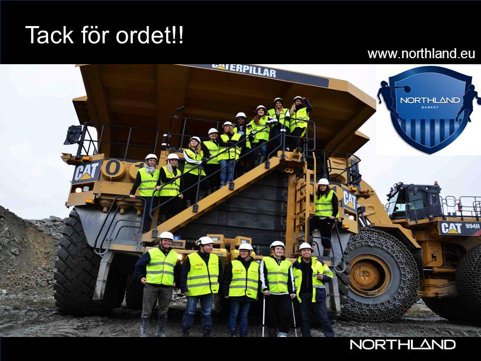Tack för ordet!! www.northland.eu www 30