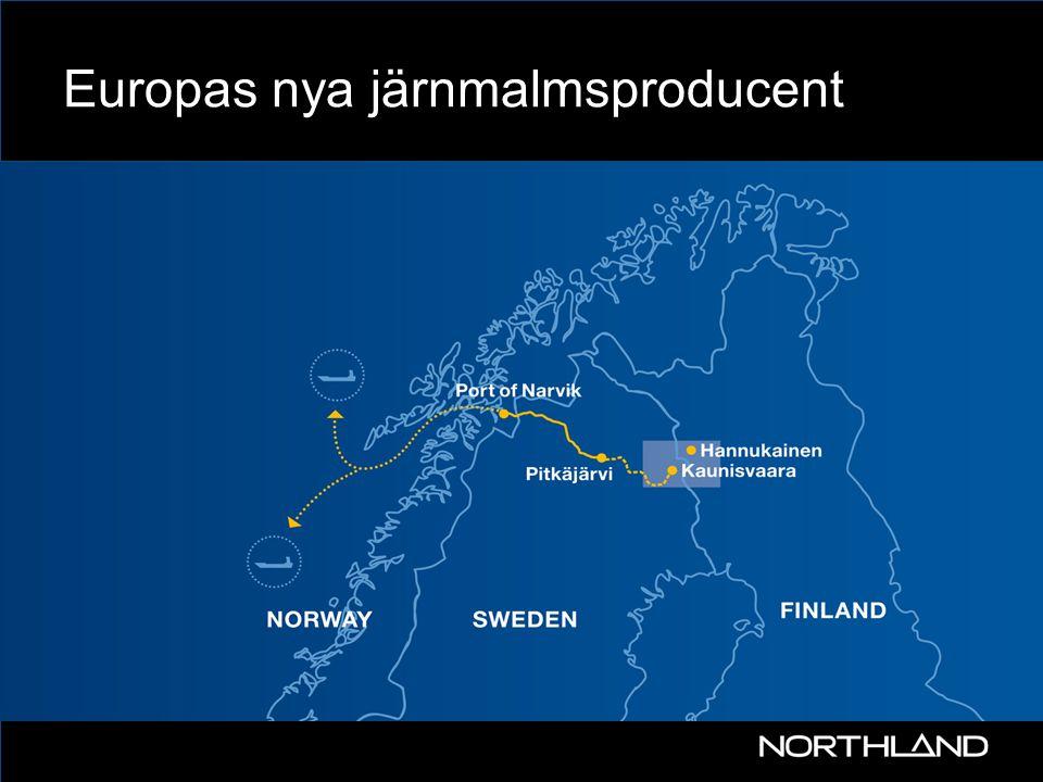 Europas nya järnmalmsproducent