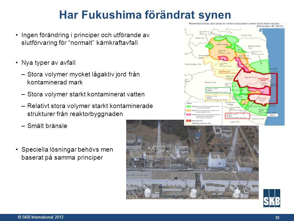 Har Fukushima förändrat synen
