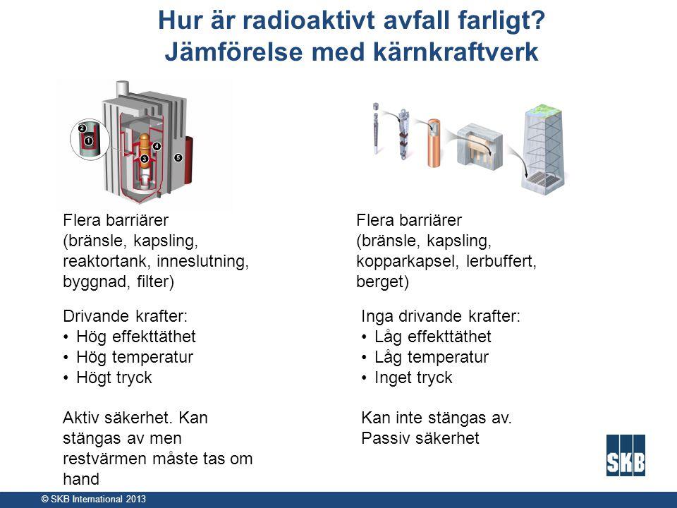 Hur är radioaktivt avfall farligt Jämförelse med kärnkraftverk