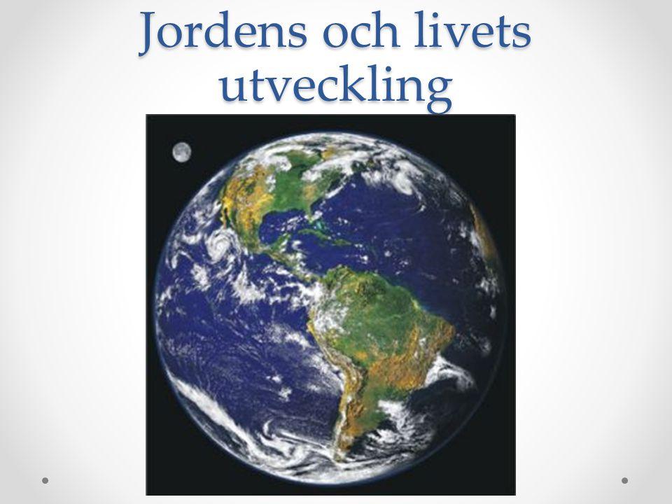 Jordens och livets utveckling