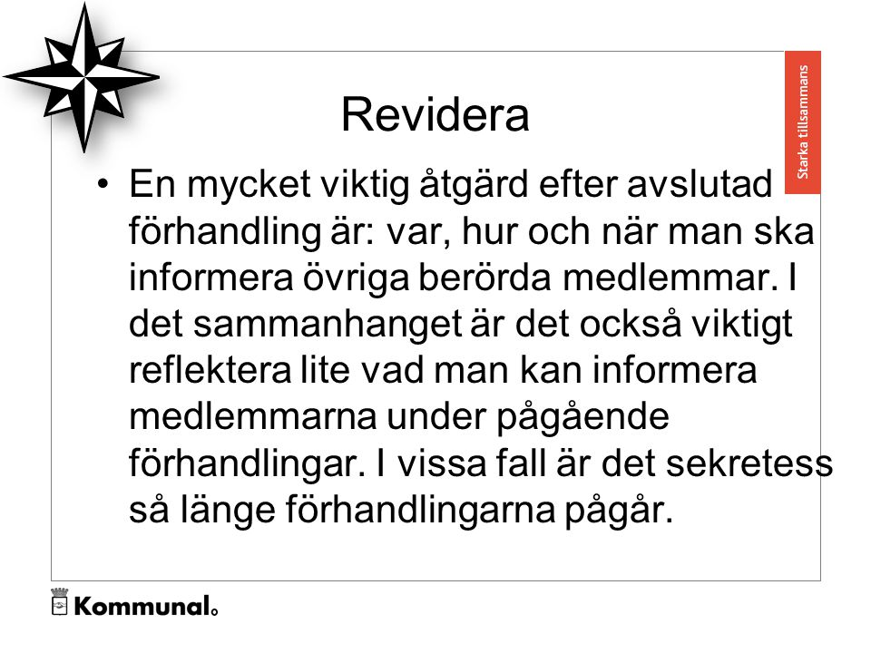 Revidera