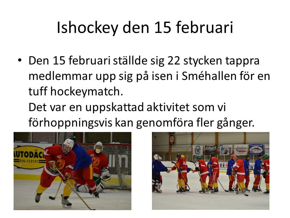 Ishockey den 15 februari