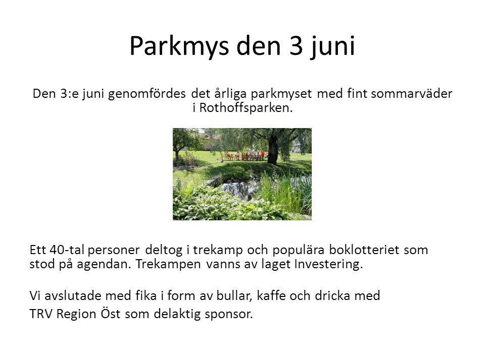 Parkmys den 3 juni