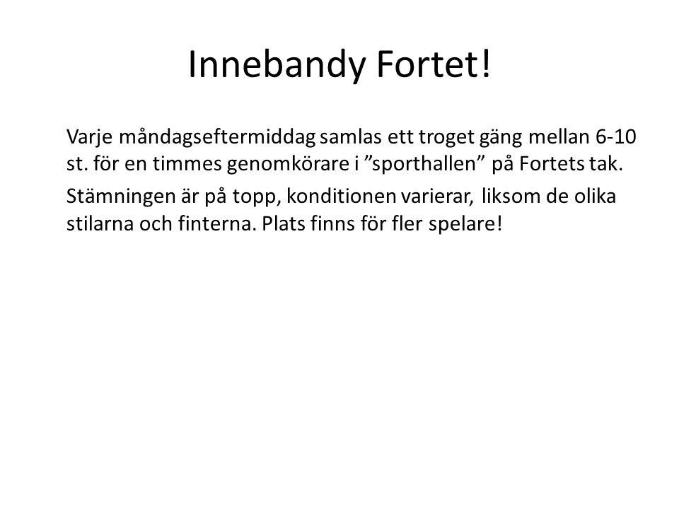Innebandy Fortet!