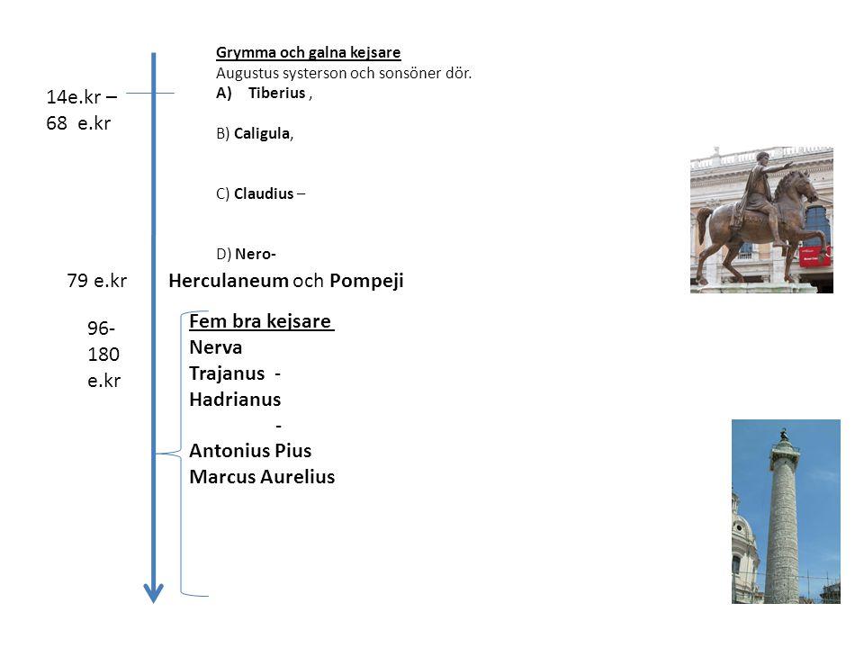 Herculaneum och Pompeji