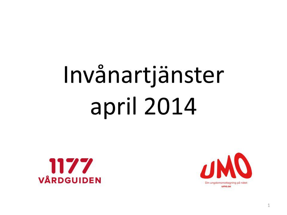 Invånartjänster april 2014