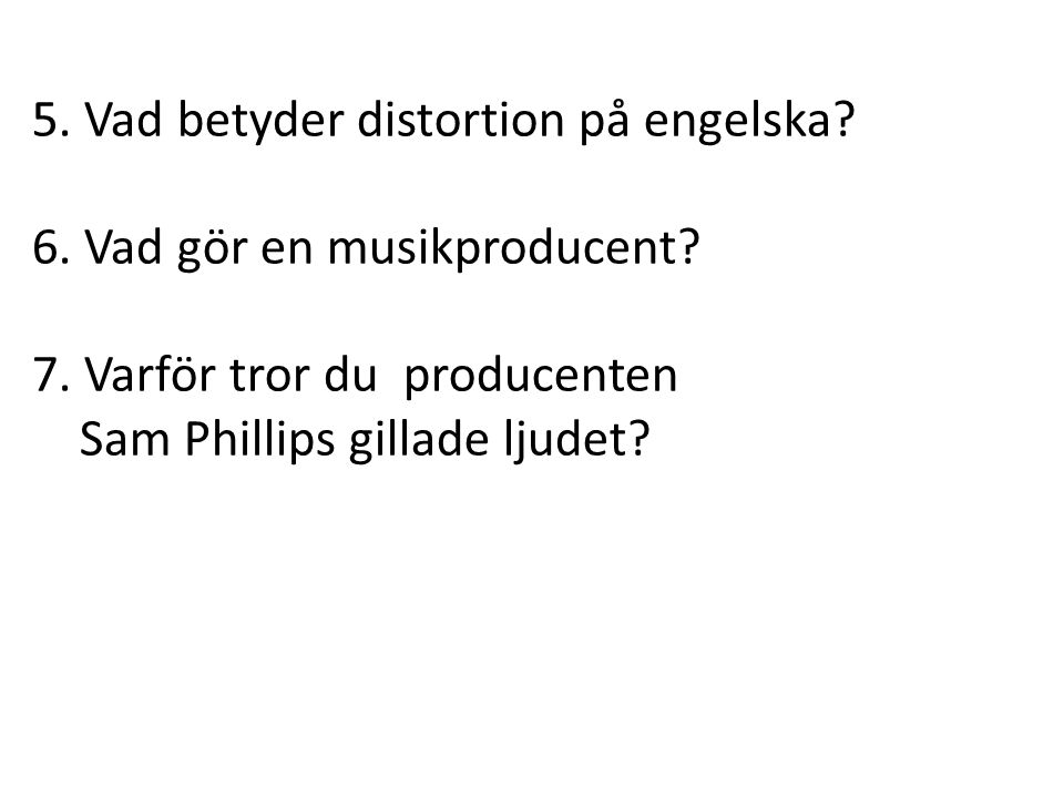 5. Vad betyder distortion på engelska
