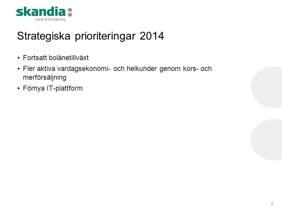 Strategiska prioriteringar 2014