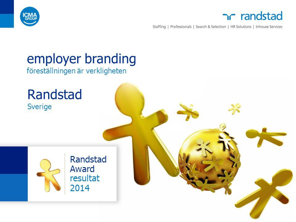 employer branding Randstad Sverige Randstad Award resultat 2014
