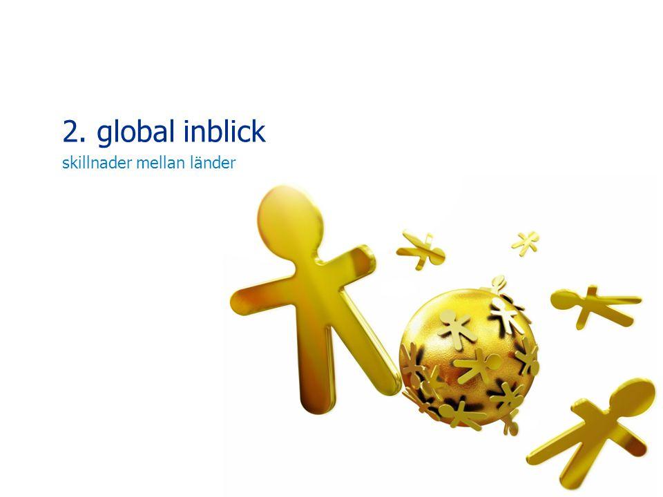 2. global inblick skillnader mellan länder