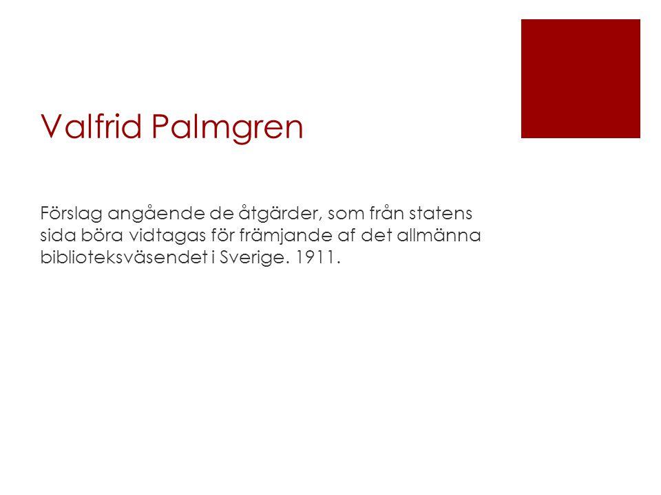 Valfrid Palmgren