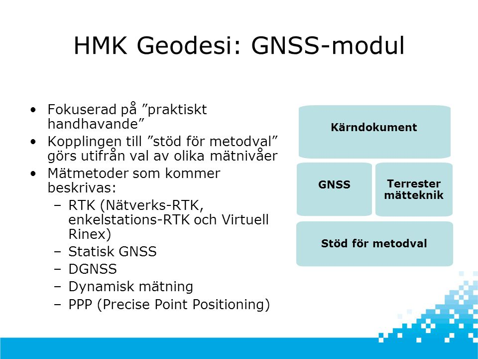 HMK Geodesi: GNSS-modul