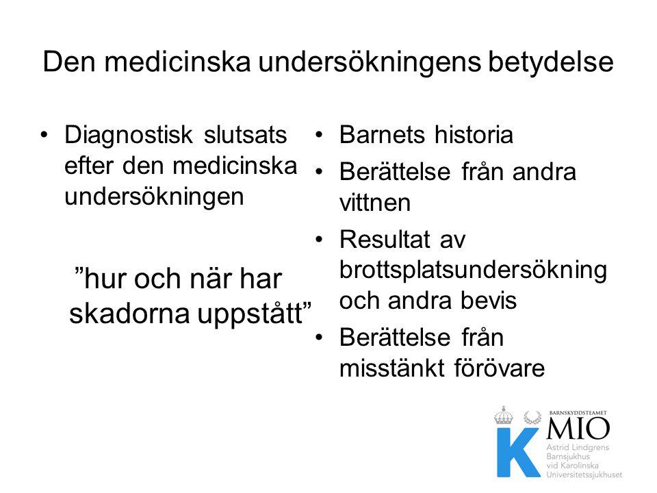 Den medicinska undersökningens betydelse