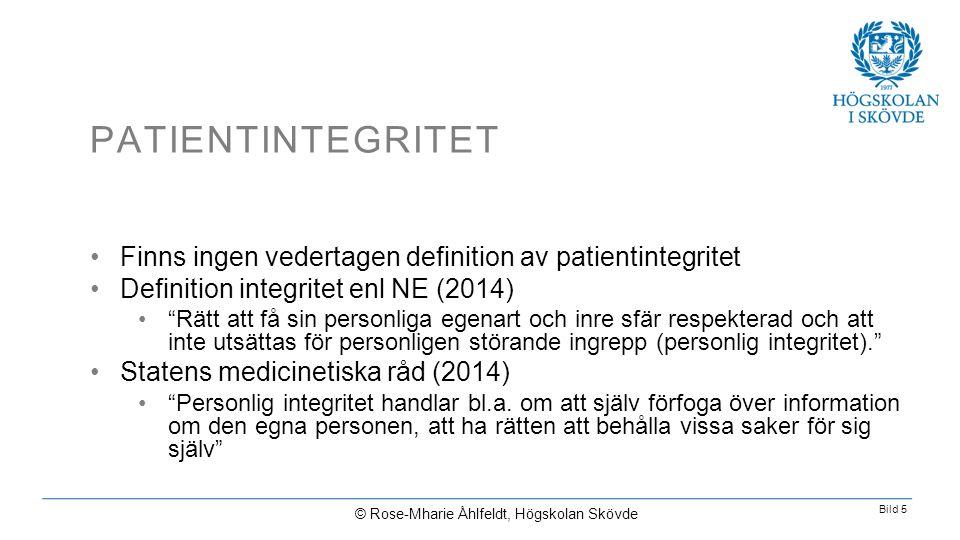 © Rose-Mharie Åhlfeldt, Högskolan Skövde