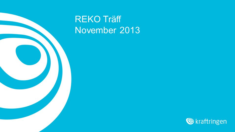 REKO Träff November 2013