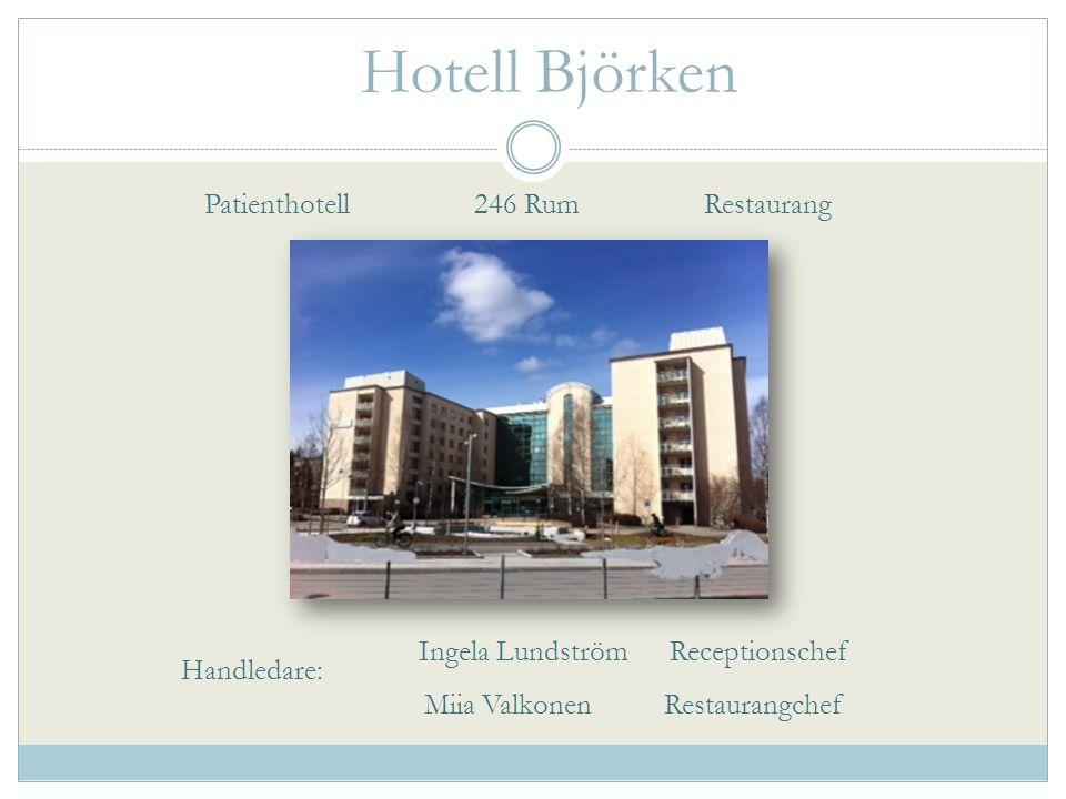 Hotell Björken Patienthotell 246 Rum Restaurang