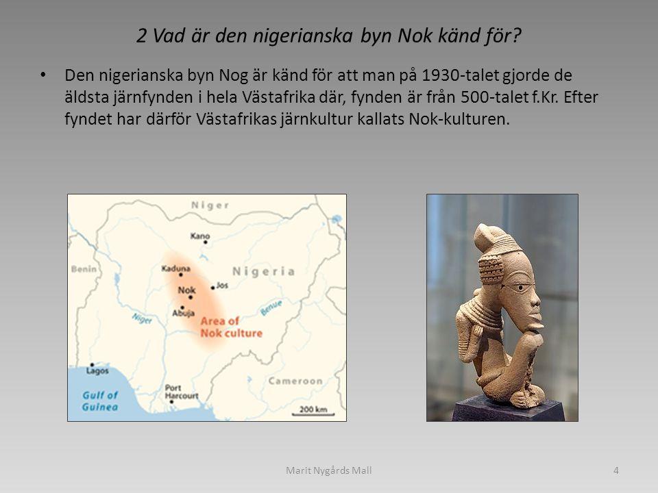 2 Vad är den nigerianska byn Nok känd för