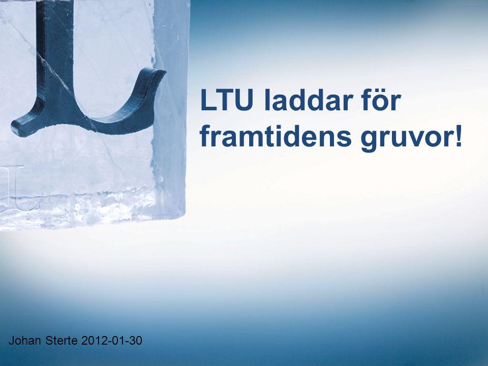 LTU laddar för framtidens gruvor!