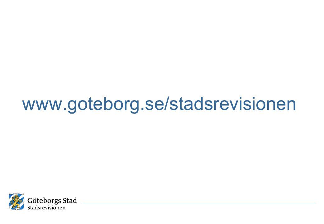 www.goteborg.se/stadsrevisionen