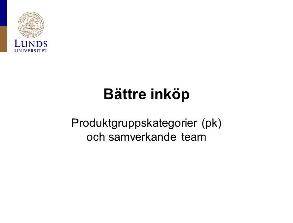 Produktgruppskategorier (pk)