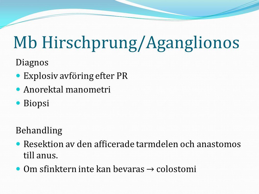 Mb Hirschprung/Aganglionos