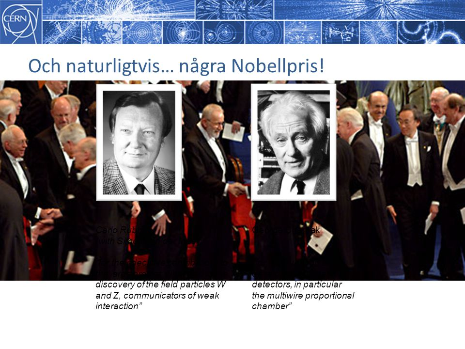 Och naturligtvis… några Nobellpris!