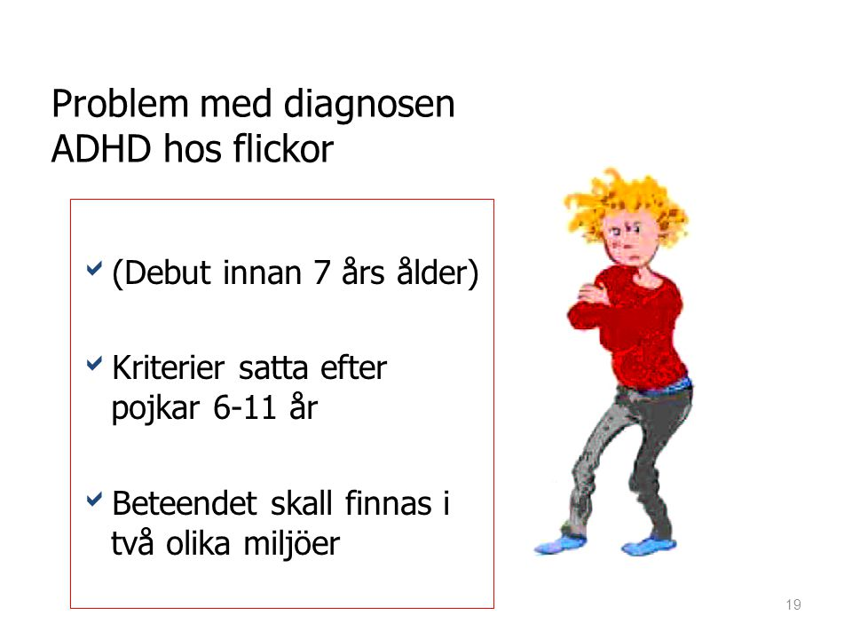 Problem med diagnosen ADHD hos flickor
