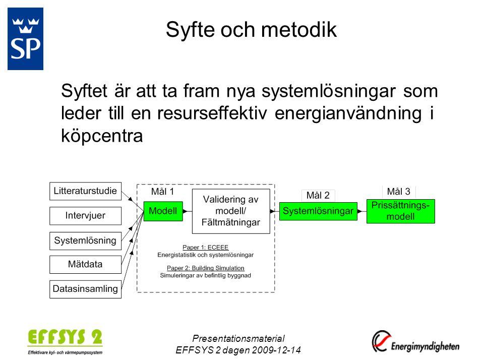 Presentationsmaterial EFFSYS 2 dagen 2009-12-14